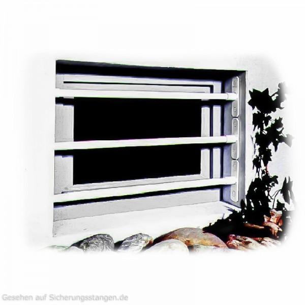 Sicherheitsgitter für Kellerfenster.