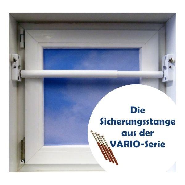 VARIO Sicherungsstange 180 - 310 cm, weiß